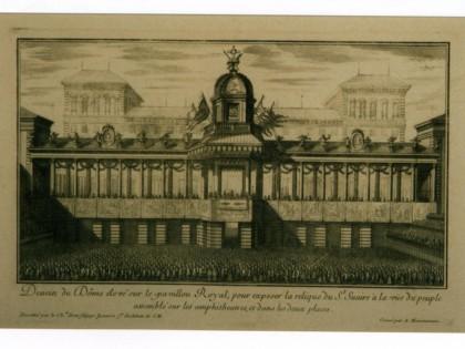 <B>TORINO. Ostensione da Palazzo Reale. </B>