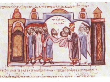 Sindone a Bisanzio nel 944.